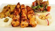 طريقة طبخ الشيش طاووق