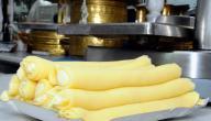 كيفية صنع حلاوة الجبن الحمصية