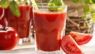 كيفية عمل عصير الطماطم