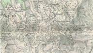 مفهوم الخرائط الطبوغرافية