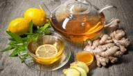 ما فوائد الشاي الأخضر والزنجبيل
