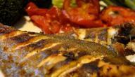 أطباق سمك في الفرن