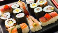 طريقة السوشي الياباني
