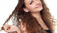 كيف يمكن ترطيب الشعر الجاف