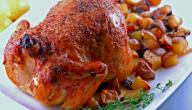 عمل صينية الدجاج بالبطاطس