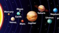 كم عدد الأقمار في المجموعة الشمسية