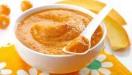 وصفات طعام للأطفال بعمر 6 شهور