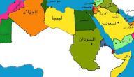 دول المغرب العربي وعواصمها