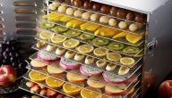 طريقة تجفيف الفواكه في المنزل