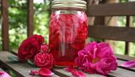 طريقة صنع شراب الورد