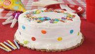 إعداد كيكة عيد ميلاد للأولاد