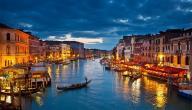 مدينة فينيسيا في إيطاليا