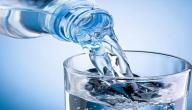 فوائد عن الماء