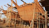 صناعة السفن في عمان