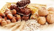 العناصر الغذائية ومصادرها