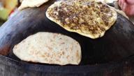 عمل خبز الصاج في البيت