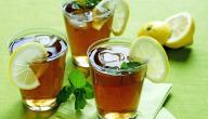 فوائد الشاي الأخضر والليمون