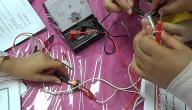 كيفية حساب شدة التيار الكهربائي