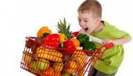 فوائد الفواكه والخضروات للأطفال