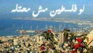 مدن فلسطينية محتلة