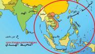 دول شرق وجنوب شرق آسيا