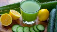 فوائد الخيار والليمون للبشرة