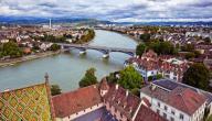 مدينة بازل في سويسرا