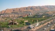 موقع محافظة دهوك