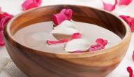 فوائد غسل الوجه بماء الورد