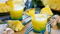 فوائد عصير الأناناس والكيوي للتنحيف