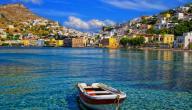 كم جزيرة في اليونان
