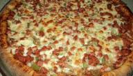 عمل بيتزا في البيت