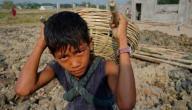 مقالة عن عمالة الأطفال