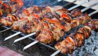 طريقة عمل لحم مشوي على الفحم