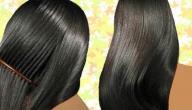 وصفة طبيعية لتطويل الشعر في مدة قصيرة