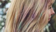 طريقة عمل طباشير الشعر