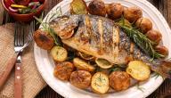 طريقة طبخ السمك المجمد