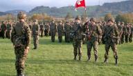 هل يوجد جيش في سويسرا