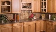 طريقة تنظيف خشب المطبخ