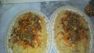 طريقة طبخ أرز العنبر