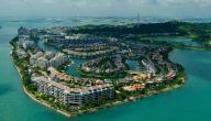 جزيرة سانتوزا في سنغافورة