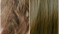 طرق معالجة الشعر التالف