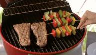 طريقة شوي اللحم بالشواية الكهربائية