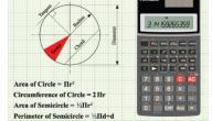 قانون حساب محيط الدائرة