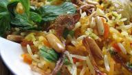 طريقة طبخ الأرز بالبهارات السبعة