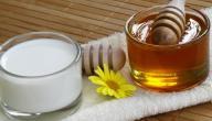 فوائد اللبن والعسل للشعر