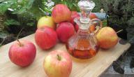 فوائد مسح الوجه بخل التفاح