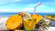 فوائد شرب عصير الأناناس يومياً