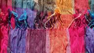 طرق صبغ الأقمشة بالألوان وتثبيتها