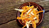 فوائد قشر البرتقال المجفف للجسم